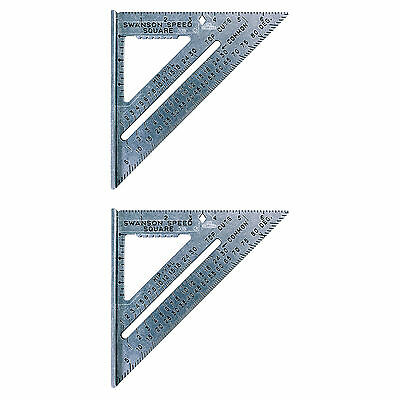 Swanson Tool SO101 7-inch The Speed High-Grade Aluminum Alloy Squares, 2-Pack