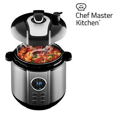 *smart Pressure Cooker Chef Cook Master Kitchen Automatic Cooking Food Processor