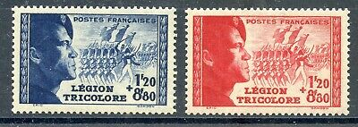 Stamp / Timbre France Neuf N° 565/566 **  Legion Etrangere Cote 25 €