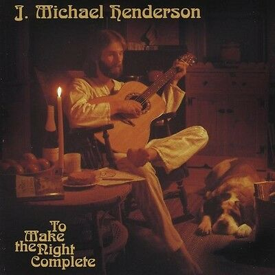 J. Michael Henderson - To Make the Night Complete [New CD]