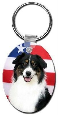 Australian Shepherd Key Chain