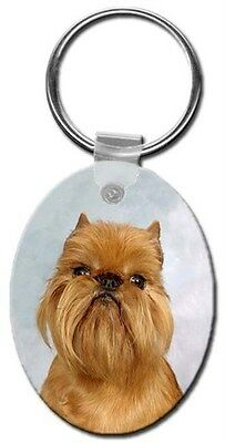 Brussels Griffon Key Chain