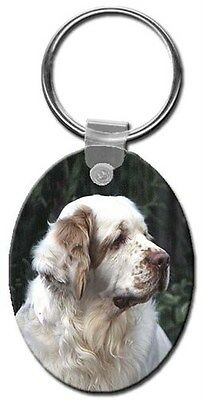 Clumber Spaniel Key Chain