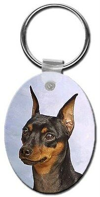 Miniature Pinscher Key Chain