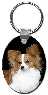 Papillon Key Chain