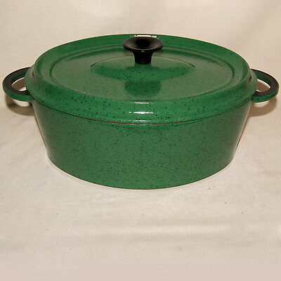 Cocotte Faitout Ovale Fonte Emaillee Enamelled Cast Iron Dutch Oven