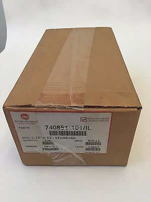 "Datamax-O'neil 2.25"" X 53' Standard Direct Thermal Receipt Paper For Apex 2 100"