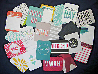 "'prismatic' Project Life Cards By Becky Higgins -3"" X 4"" - 23 Pack"
