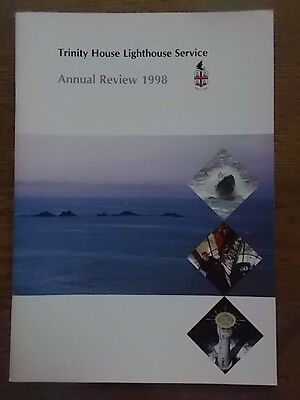 Trinity House Lighthouse Service Annual Review 1998 Mint Condition Illustrated