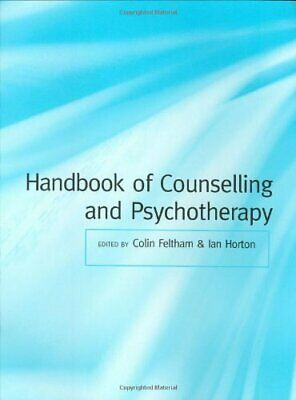 Handbook of Counselling and Psychotherapy Paperback Book The Cheap Fast Free
