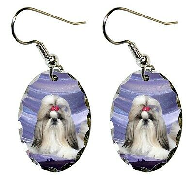 Shih Tzu Earrings