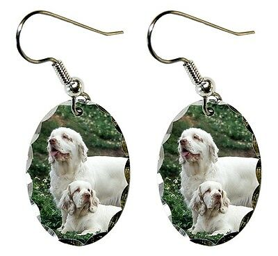 Clumber Spaniel Earrings