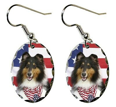 Collie Rough Earrings
