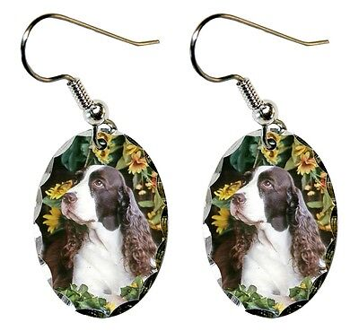 English Springer Spaniel Earrings