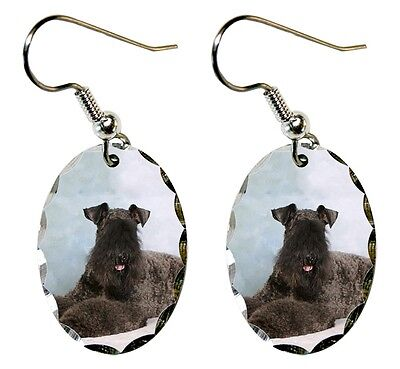 Kerry Blue Terrier Earrings