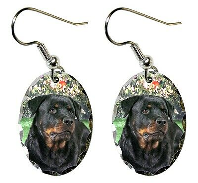 Rottweiler Earrings