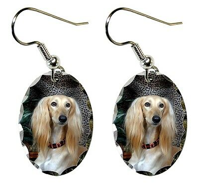 Saluki Earrings