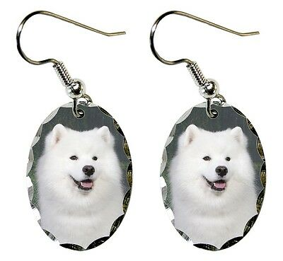 Samoyed Earrings