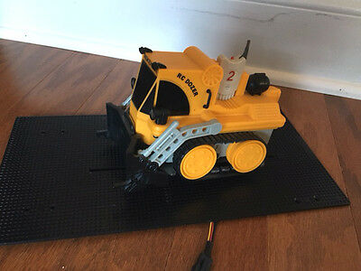 Modified Rokenbok Classic RC Dozer with Slotted Platform -- Unique!
