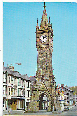 Wales Postcard - The Town Clock - Machynlleth       DP797