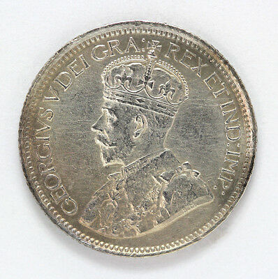 1914 Canada Silver 10 Cent George V Km23 - 91901h