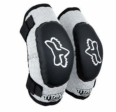 Fox Racing PeeWee Titan Elbow Guards Set/Pair Motocross,ATV,BMX Kids Child Youth