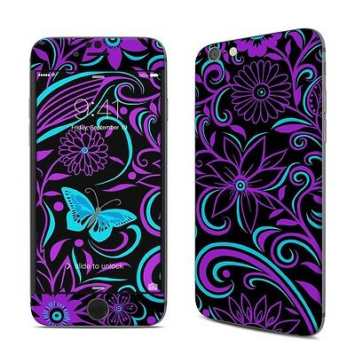 NEW Blue Butterfly Floral Vinyl Decal Skin Kit Sticker Cover For iPhone Models