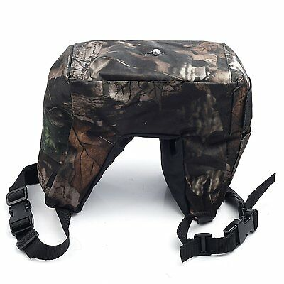 Movo THB01 Camera Lens Beanbag with Gimbal/Ball Head Mount - Mossy Oak / Junior