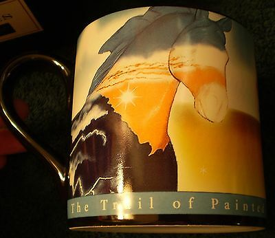 Trail of Painted Ponies Lightning Bolt Colt  Strongbow Cup Mug Box