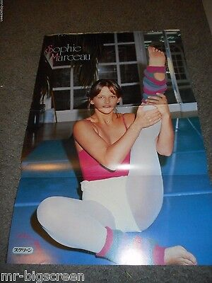 Sophie Marceau - Original Japanese Fold-Out Poster #2
