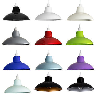 Retro Industrial Style Metal Ceiling Pendant Light Shades Modern Home Lighting