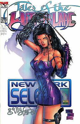 Tales Of The Witchblade #3 Signed By Artist Billy Tan