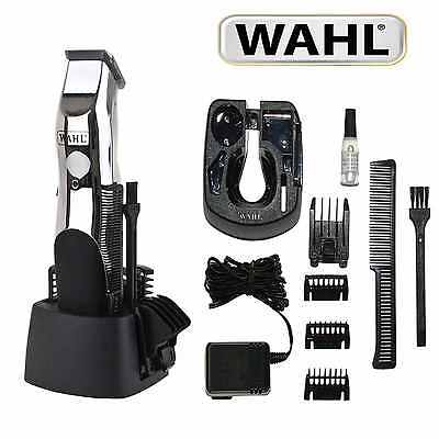 Face Shaving Kit Hair Removal Professional Machine Wahl Grooming Set Trimmer New
