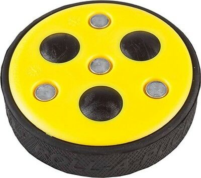 New Franklin NHL Street Hockey Roll A Puck 2, Rolling Balls For Gliding Yellow