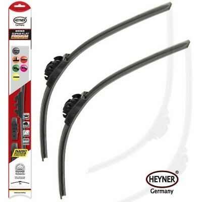 "VOLVO XC60 2008-on HEYNER SUPER FLAT windscreen WIPER BLADES 26""20"""