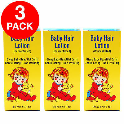Clubman Baby Hair Lotion (Concentrated) 2oz - 3Pack - SEALED