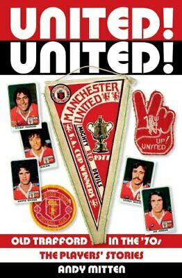 United! United! by Andy Mitten Book The Cheap Fast Free Post