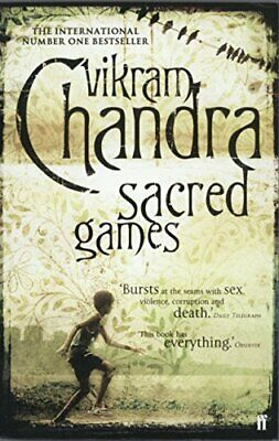 Sacred Games by Chandra, Vikram Paperback Book The Cheap Fast Free Post