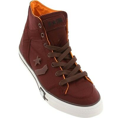 $130 124127 Converse x Undefeated Poorman Weapon High Burgundy Tawny