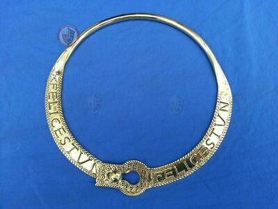 Roman Felice Torc necklace jewellery from 4thC known as Felices Tungrorum group