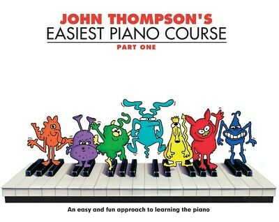 JOHN THOMPSON'S Easiest Piano Course Part 1 Book *NEW* Beginner Tuition Kids