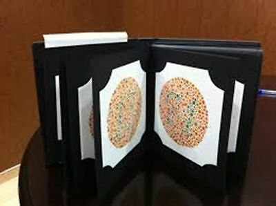 38 Plate Ishihara Tests Book For Color Blindness Testing Dr Shinobu Japan