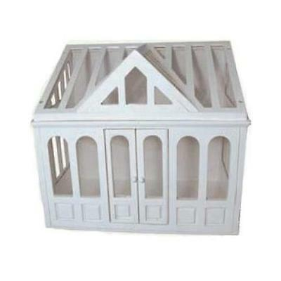 Conservatory for 1:12 Scale Dolls House Painted White