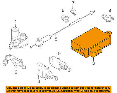 Marvelous Bmw Oem 97 03 540I Cruise Control Module 65718375497 473 45 Wiring Cloud Staixuggs Outletorg