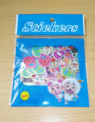 Kawaii Anime Character Sticker Flakes.100 pack.