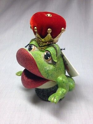 Engagement Ring Box FROG PRINCE. Katherine's Collection. (Unique Proposal)