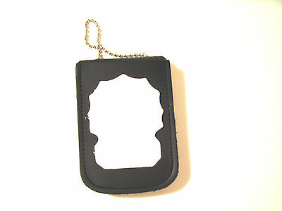 NY & NJ EMT  Recessed Badge & ID Holder Wear on Neck & Belt 4 Pockets