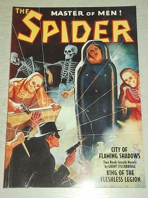 Spider: City of Flaming Shadows by Grant Stockbridge (Paperback) 9781608771738