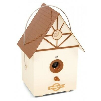 PetSafe Outdoor Anti Bark Dog Puppy No More Noise Barking Birdhouse Pet Control