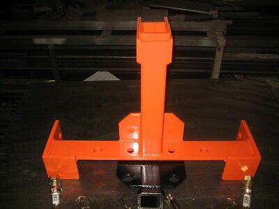 TRANSFORMER 3 Point Tailer Hitch that is Quick Hitch Compatible for Kubota/Kioti